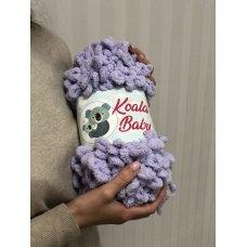 Плюшевая пряжа Koala Baby цвет Лаванда 105