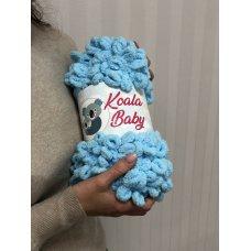 Плюшевая пряжа Koala Baby цвет Голубой 106