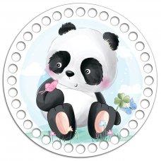 Донышко Донышко Круг 15 см.  Панда baby