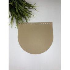 Крышка для сумки из экокожи Крем-брюле 20 см на 18 см