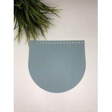 Крышка для сумки из экокожи Морозная мята 20 см на 18 см