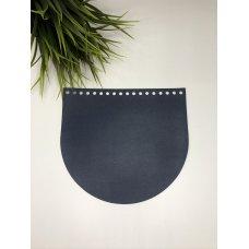 Крышка для сумки из экокожи Нейви 20 см на 18 см