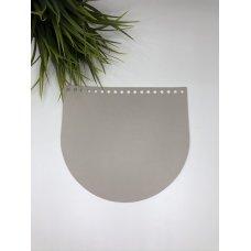 Крышка для сумки из экокожи Тауп 20 см на 18 см