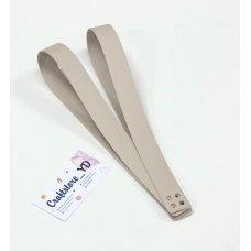 Ручки для шоппера из Экокожи 60 см Тауп (1 пара)