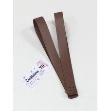 Ручки для шоппера из Экокожи 60 см Пыльная роза (1 пара)
