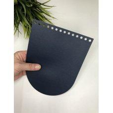 Крышка для сумки из экокожи Нейви 16 см на 21 см