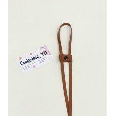 Ремешок-утяжка для сумок из Экокожи Коньяк
