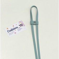 Ремешок-утяжка для сумок из Экокожи Морозная мята
