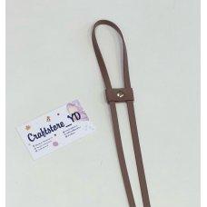 Ремешок-утяжка для сумок из Экокожи Пыльная роза
