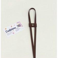 Ремешок-утяжка для сумок из Экокожи Шоколад