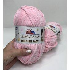 Плюшевая пряжа Himalaya Dolphin Baby цвет Розовый 80319