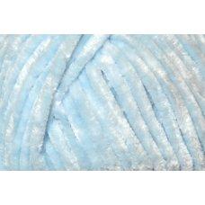 Пряжа Himalaya VELVET  цвет голубой 90006