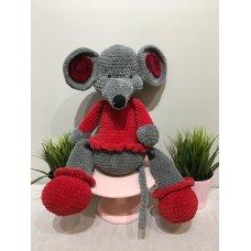 Мягкая игрушка Мышь большая