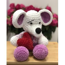 Мягкая игрушка Мышка 0001