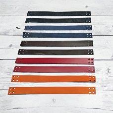 Ручки пришивные из натуральной кожи 20 см