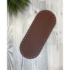 Донышко шоколад для сумки из кожи 30см на 12см