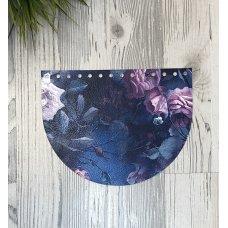 Крышка для сумки из экокожи 15*20 см