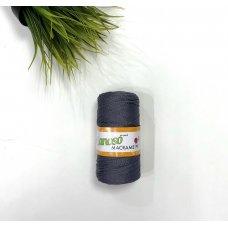 Шнур для вязания цвет Графит 963