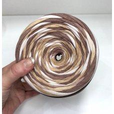 Градиентная пряжа Три шоколада