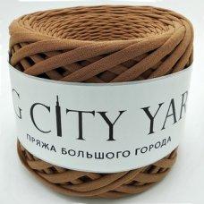 Пряжа Big City Yarn Молочный шоколад