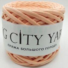 Пряжа Big City Yarn Светлый персик