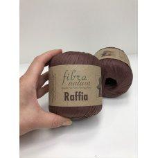 Рафия для вязания Fibra Natura Шоколад 116-03