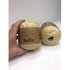 Рафия для вязания Fibra Natura Сено 116-02