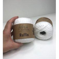 Рафия для вязания Fibra Natura Белый 116-01