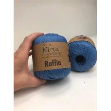 Рафия для вязания Fibra Natura Василек 116-10