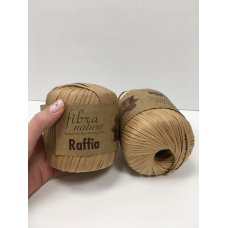 Рафия для вязания Fibra Natura Крафт 116-14