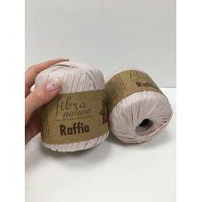 Рафия для вязания Fibra Natura Пыльная роза 116-16