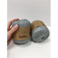 Рафия для вязания Fibra Natura Сталь 116-11