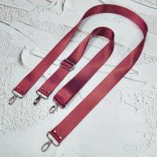 Ремешок #2 для сумки однотонный с регулятором
