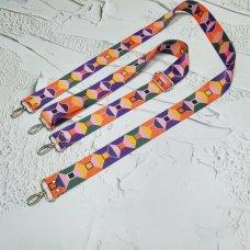 Ремешок для сумки цветной с регулятором #28