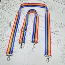 Ремешок для сумки цветной с регулятором #42