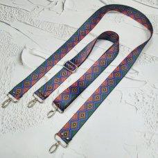 Ремешок для сумки цветной с регулятором #23