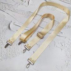 Ремешок #19 для сумки однотонный с регулятором