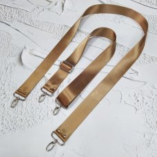Ремешок #21 для сумки однотонный с регулятором