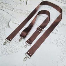 Ремешок #23 для сумки однотонный с регулятором