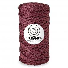 Шнур для вязания Caramel Бургунди