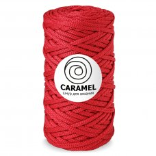 Шнур для вязания Caramel Красный