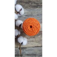 Шнур для вязания хлопковый Оранжевый
