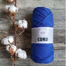 Шнур для вязания хлопковый Синий