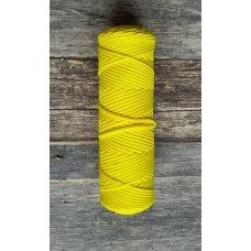 Шнур для вязания полиэфирный Лимон