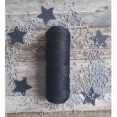 Шнур для вязания полиэфирный Черный