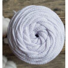 Шнур для вязания хлопковый Белый