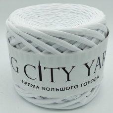 Трикотажная пряжа Сити Ярн Белый