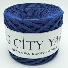 Трикотажная пряжа Сити Ярн Тёмно-синий
