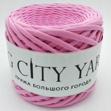 Трикотажная пряжа Сити Ярн Ярко-розовый